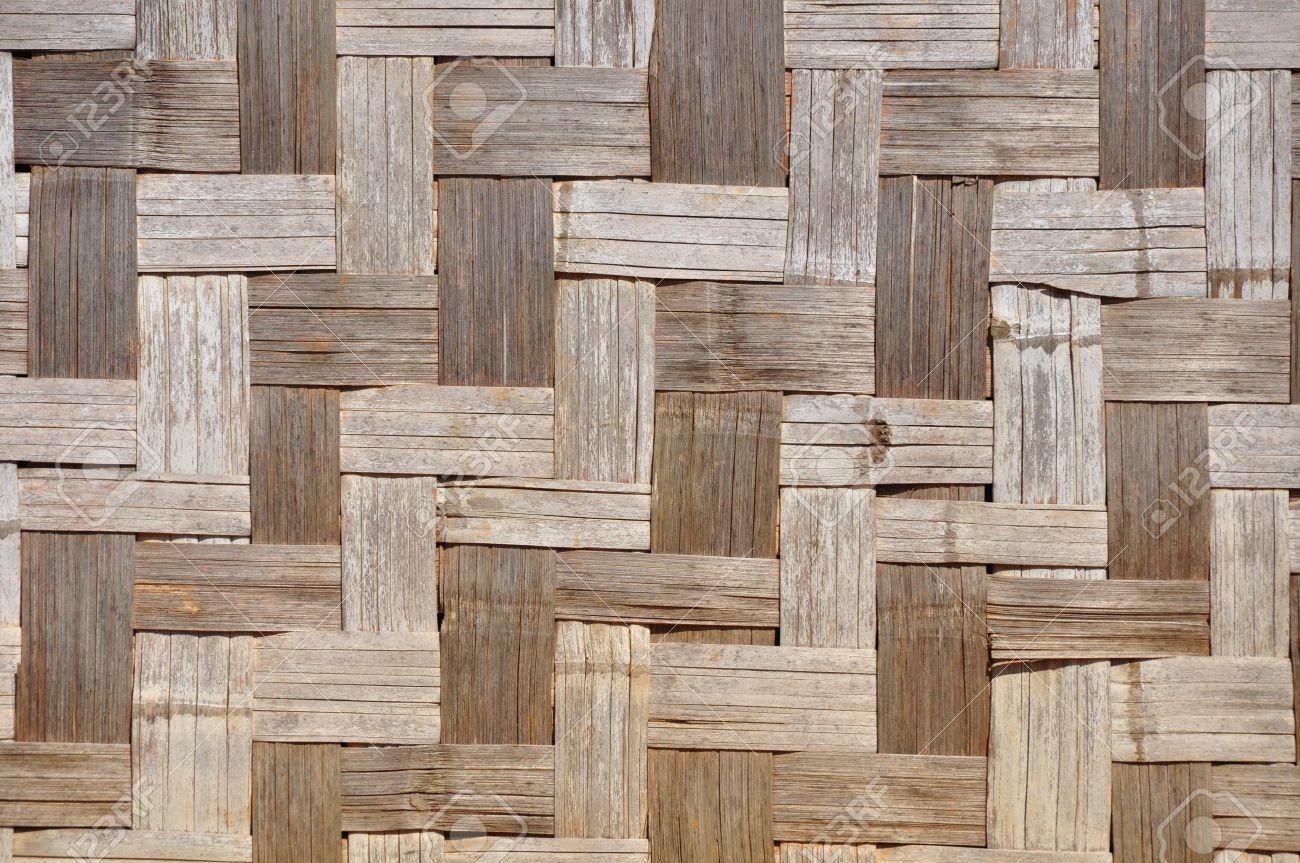 Verwitterten Bambusmatte Textur Diese Art Von Bambusmatten Werden