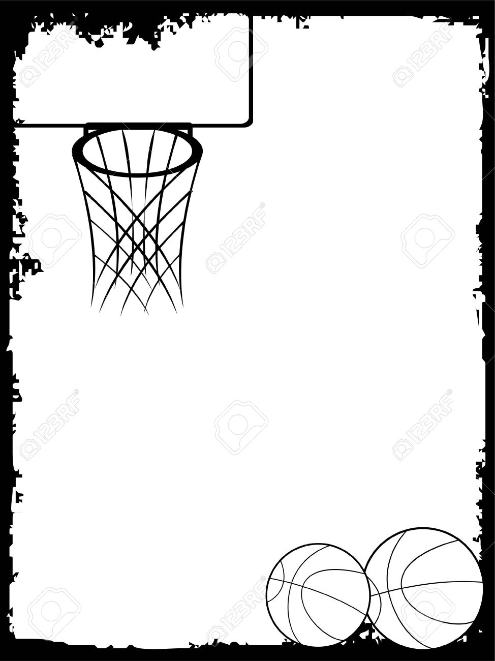 basketball on text template stock photo picture and royalty free