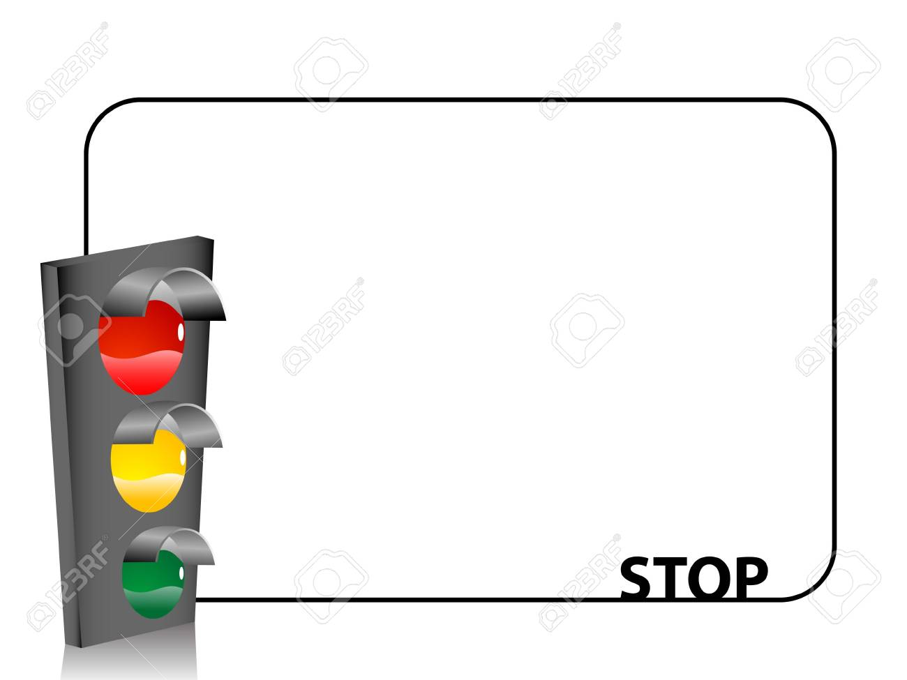 traffic light on text template stock photo picture and royalty free
