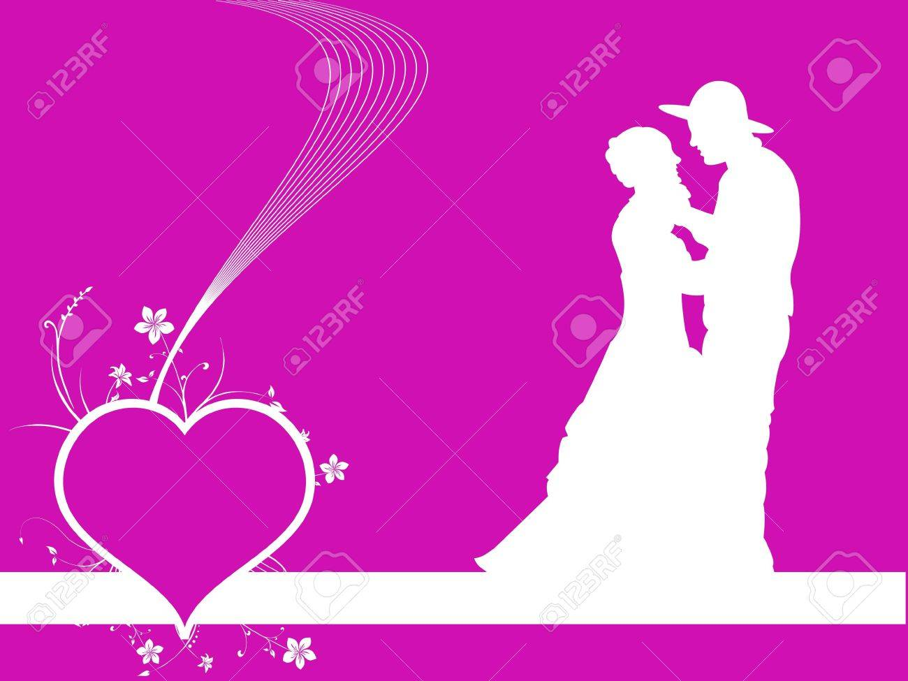 couple making love on abstract background Stock Photo - 3310996