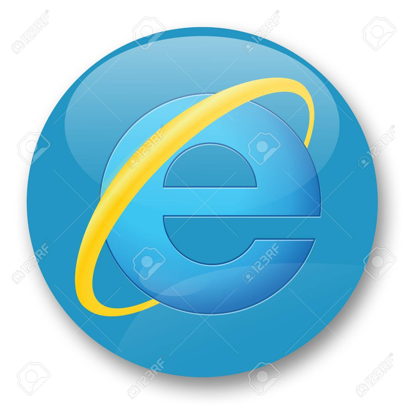 Internet Explorer Web Browser Stock Photo Picture And Royalty Free