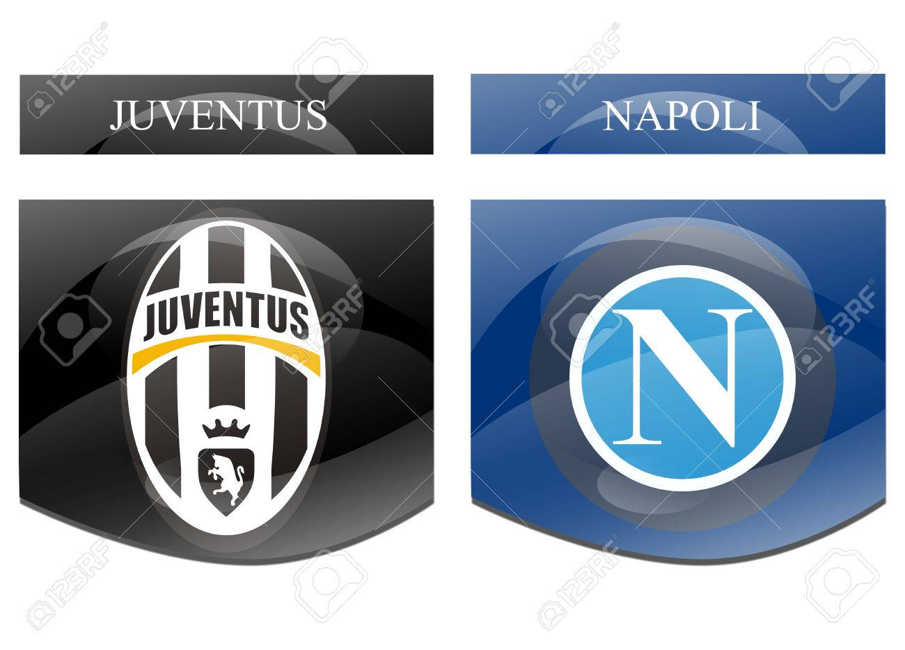Juventus Vs Napoli Stock Photo, Picture And Royalty Free Image. Image  31610046.