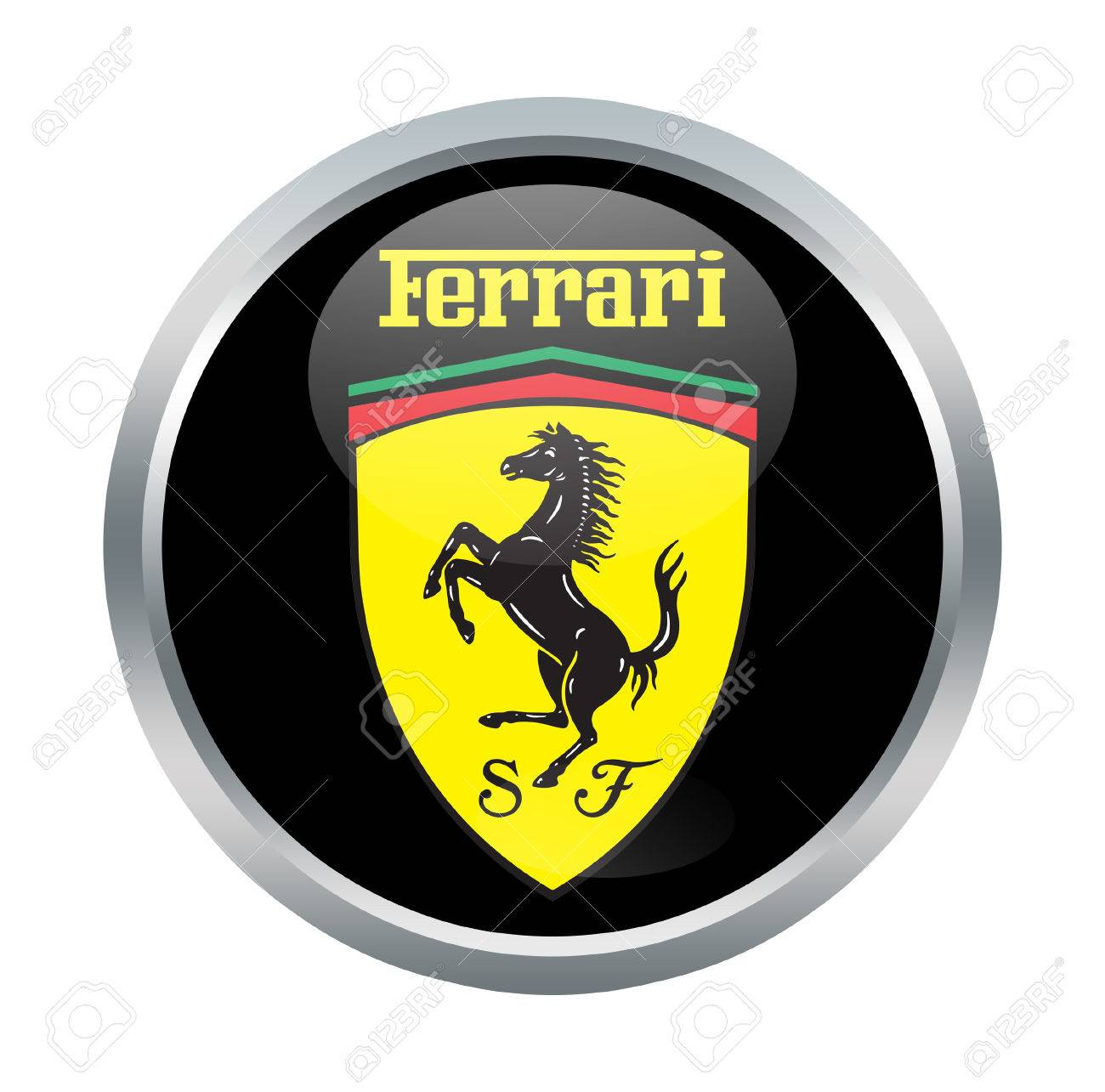 Ferrari sign on white stock photo picture and royalty free image ferrari sign on white stock photo 69200275 buycottarizona Choice Image