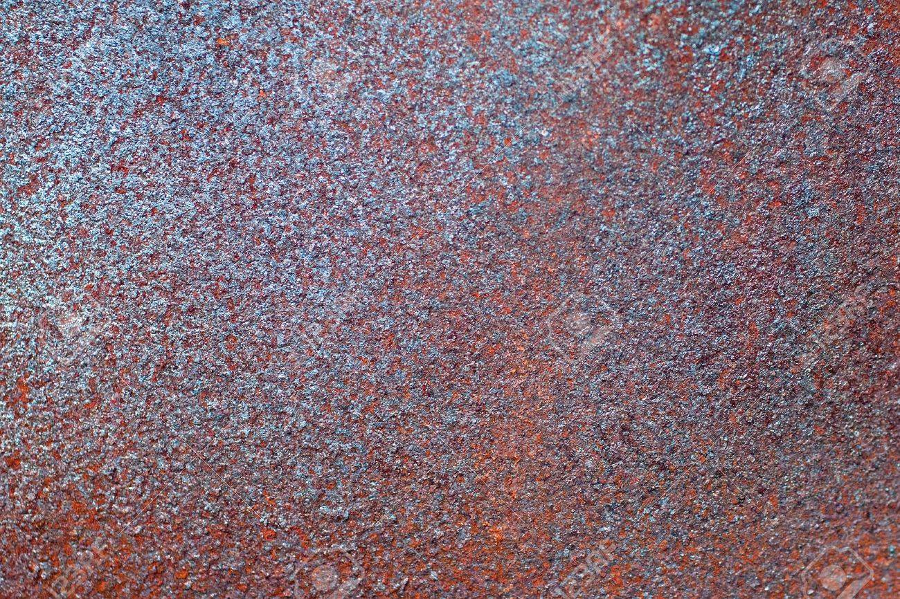 Close-up view of Rust Metal Texture Stock Photo - 7575015