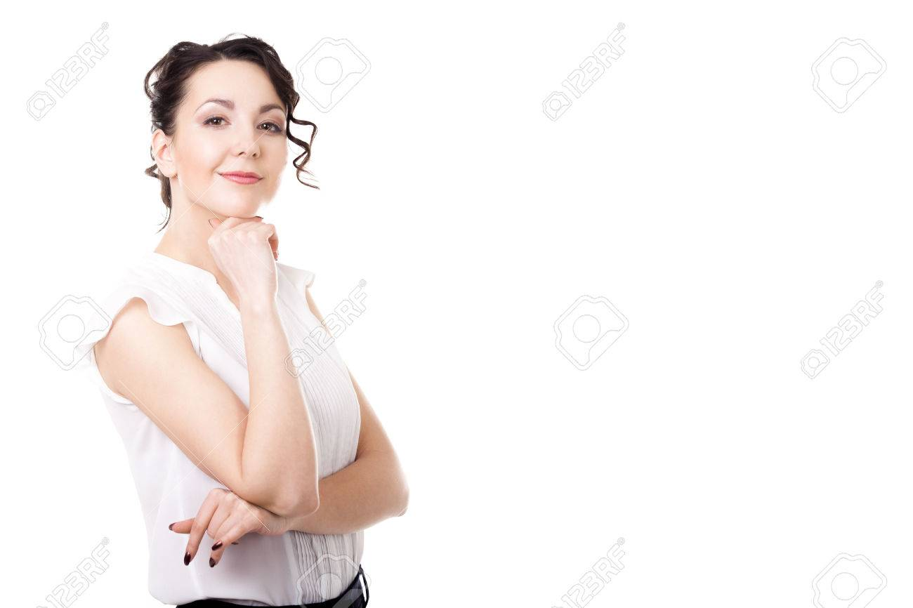 women career getting promoted office employee successful women career getting promoted office employee successful confident young female business portrait