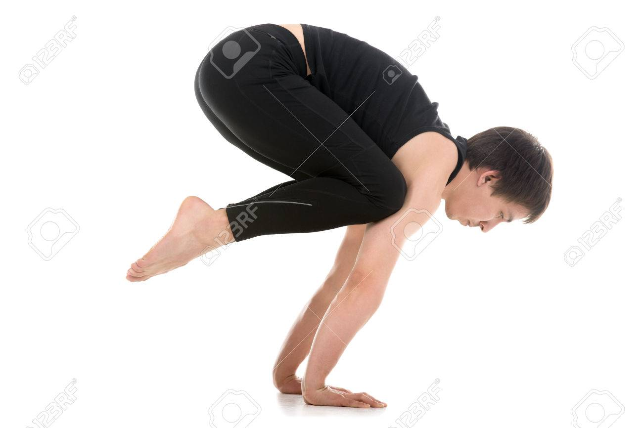 Yoga Crow Pose To Handstand