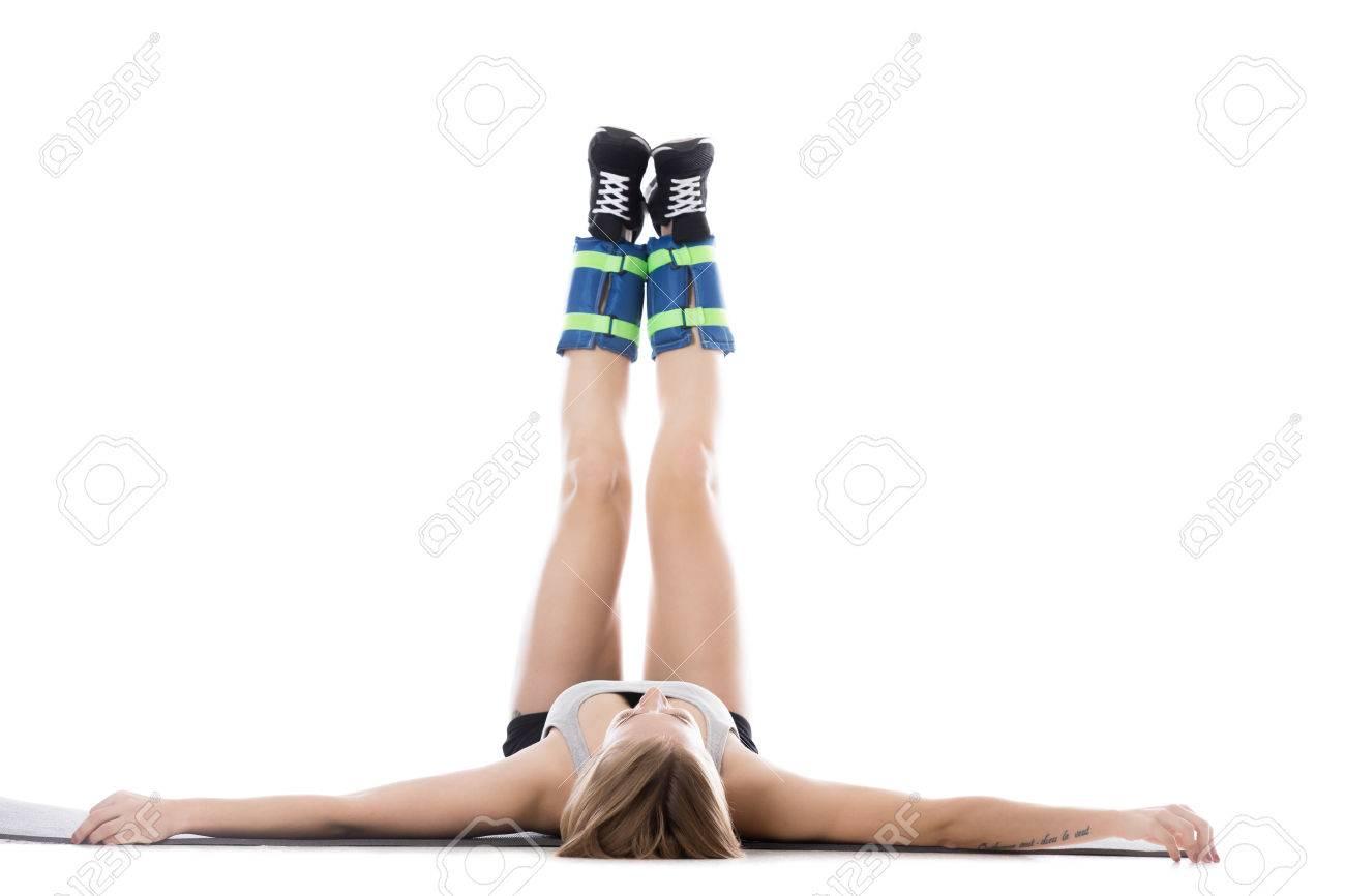 Para ejercicios con pesas mujeres abdomen para