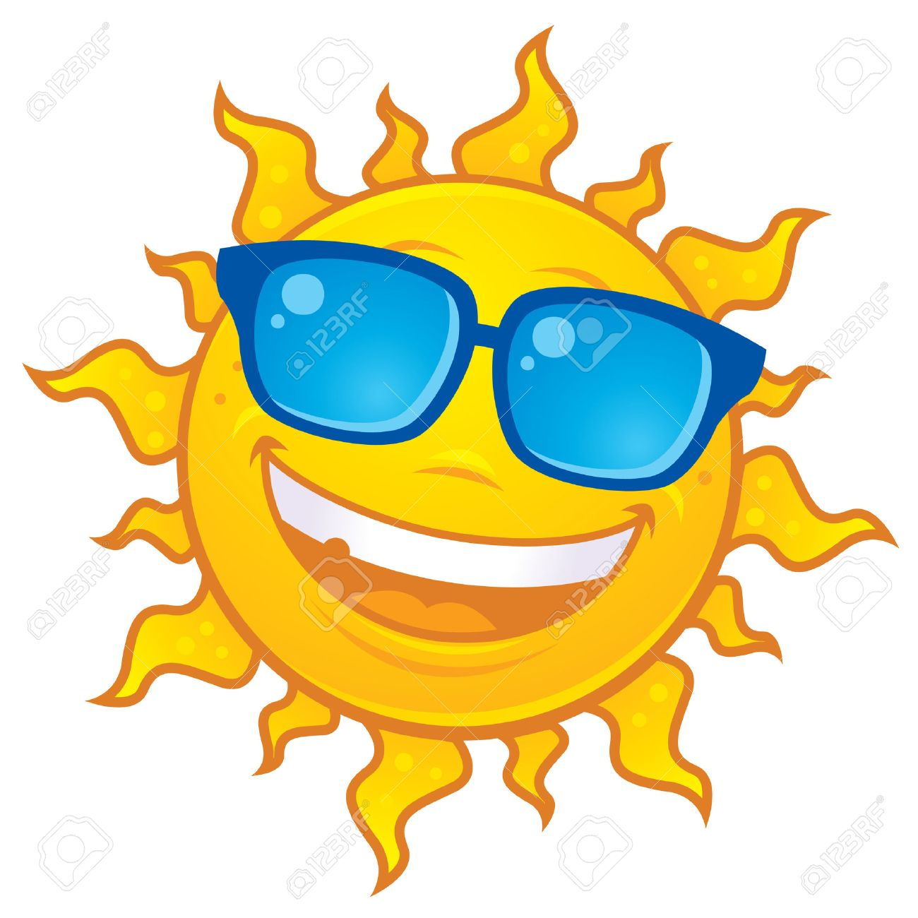 cartoon sun character wearing sunglasses royalty free cliparts rh 123rf com cartoon pictures of the sunshine cartoon images of sunbathing