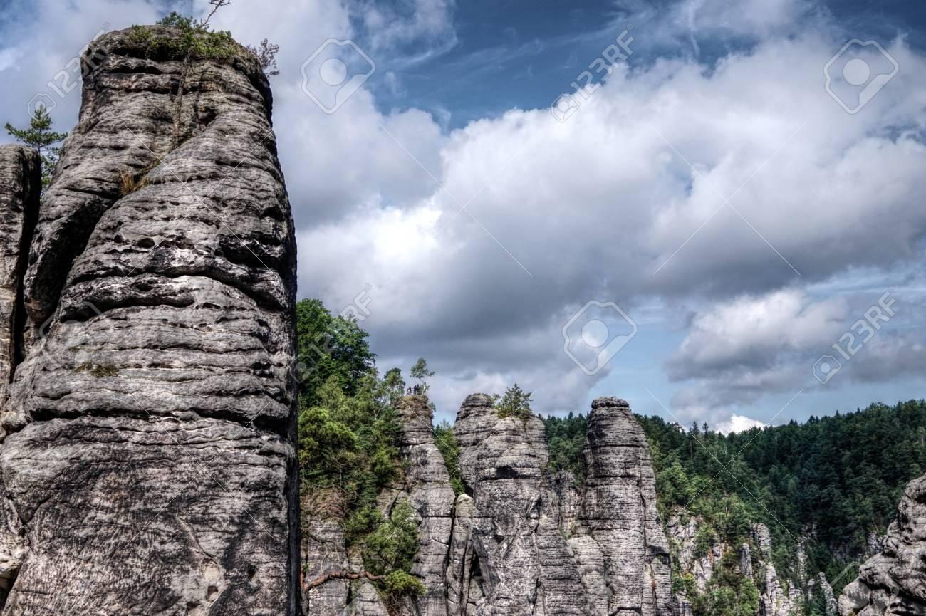 Grosse Natur In Der Tschechischen