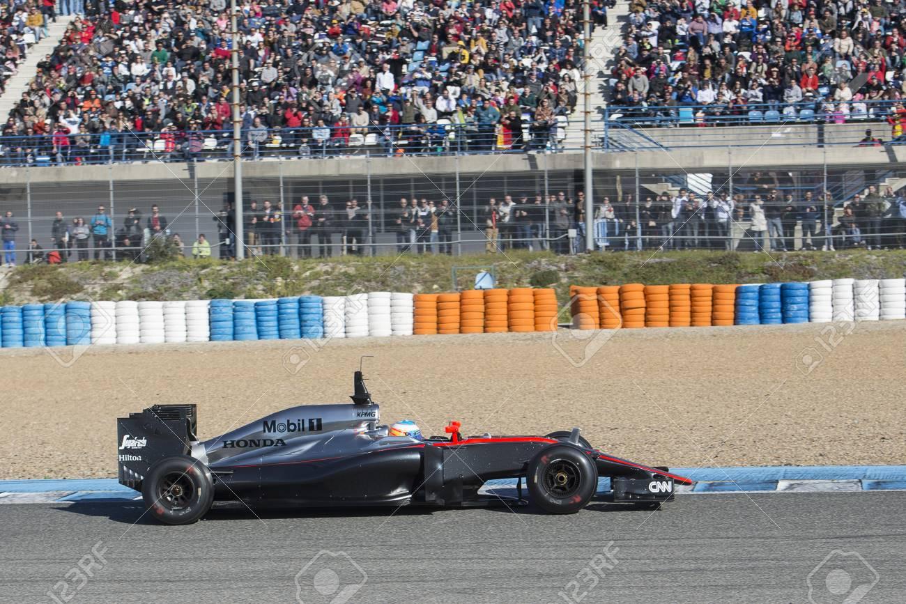 Circuito Fernando Alonso : Jerez de la frontera spain february 01: fernando alonso pilot