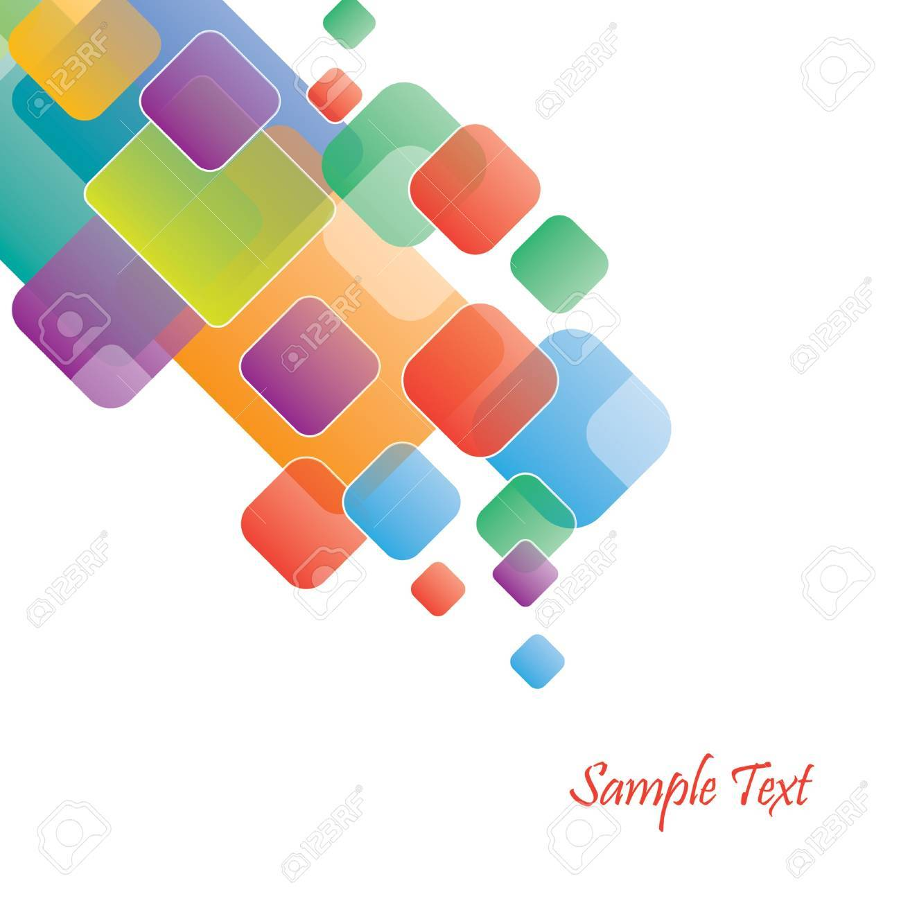 Stylish Business Template Stock Vector - 12831278