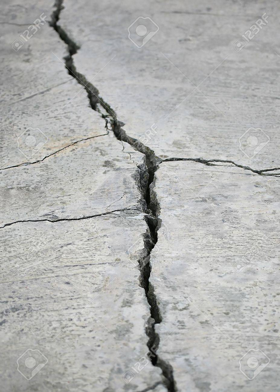 detail of a stone crack Stock Photo - 764794
