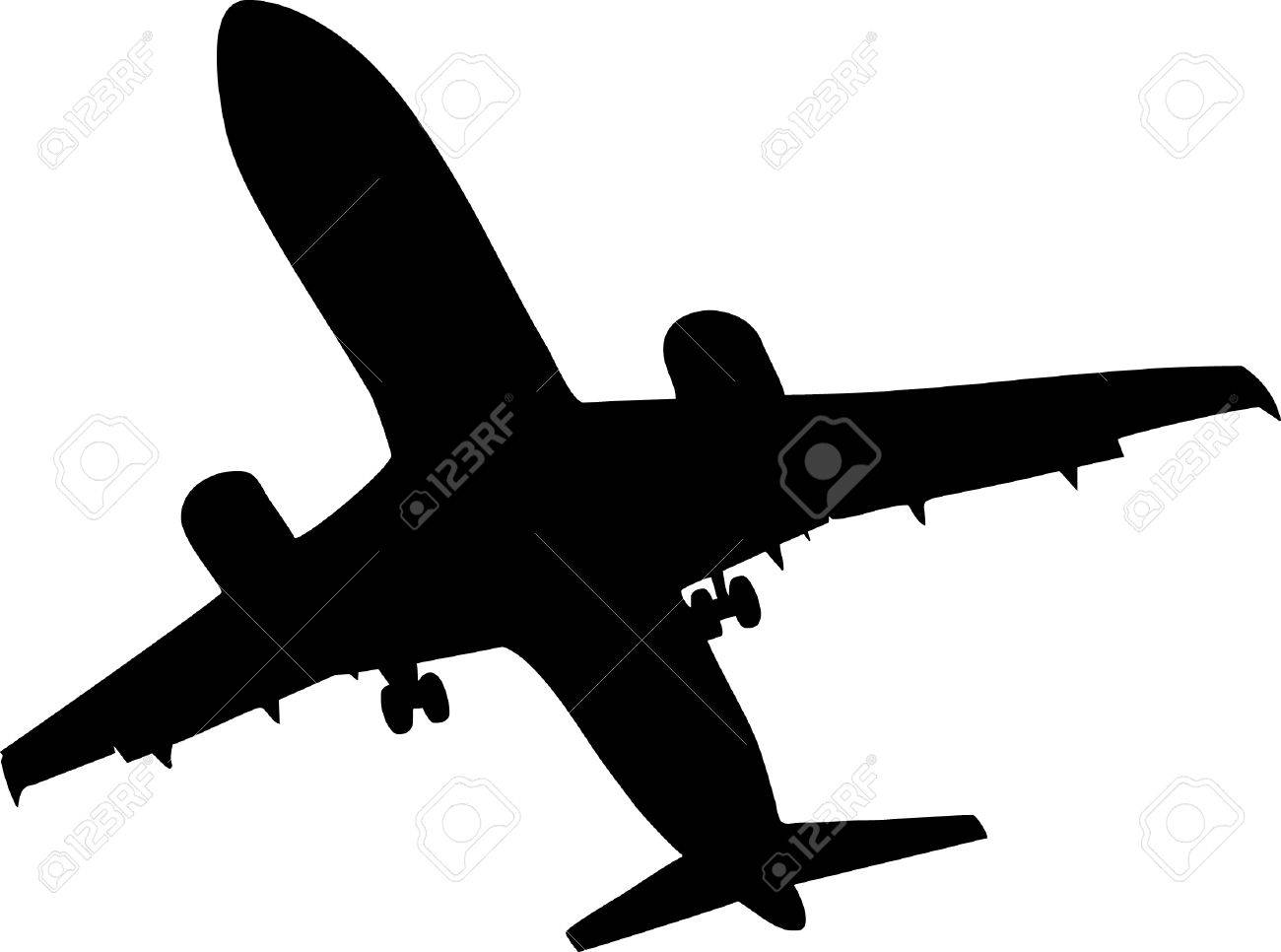 illustration of a airplane royalty free cliparts vectors and