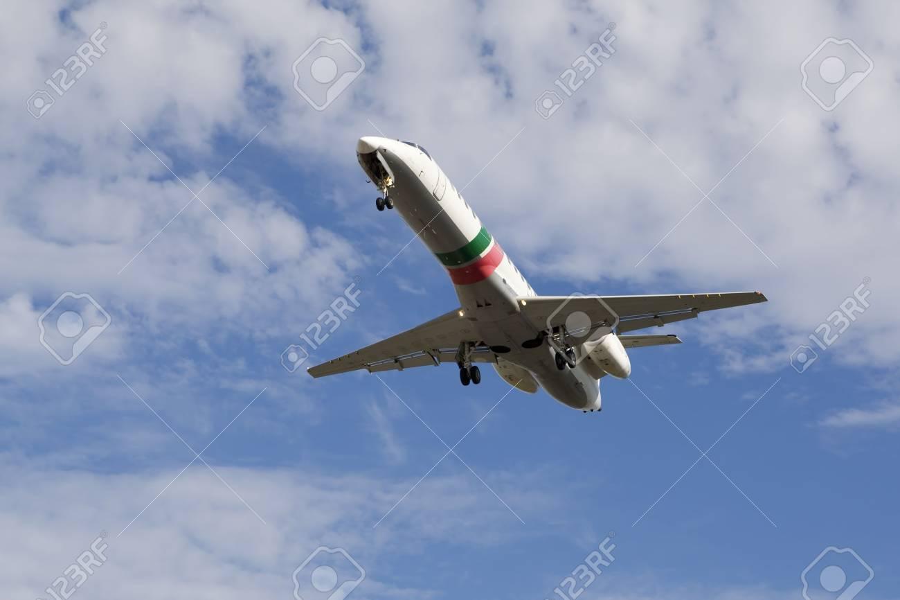 airplane preparing the landing Stock Photo - 2187097