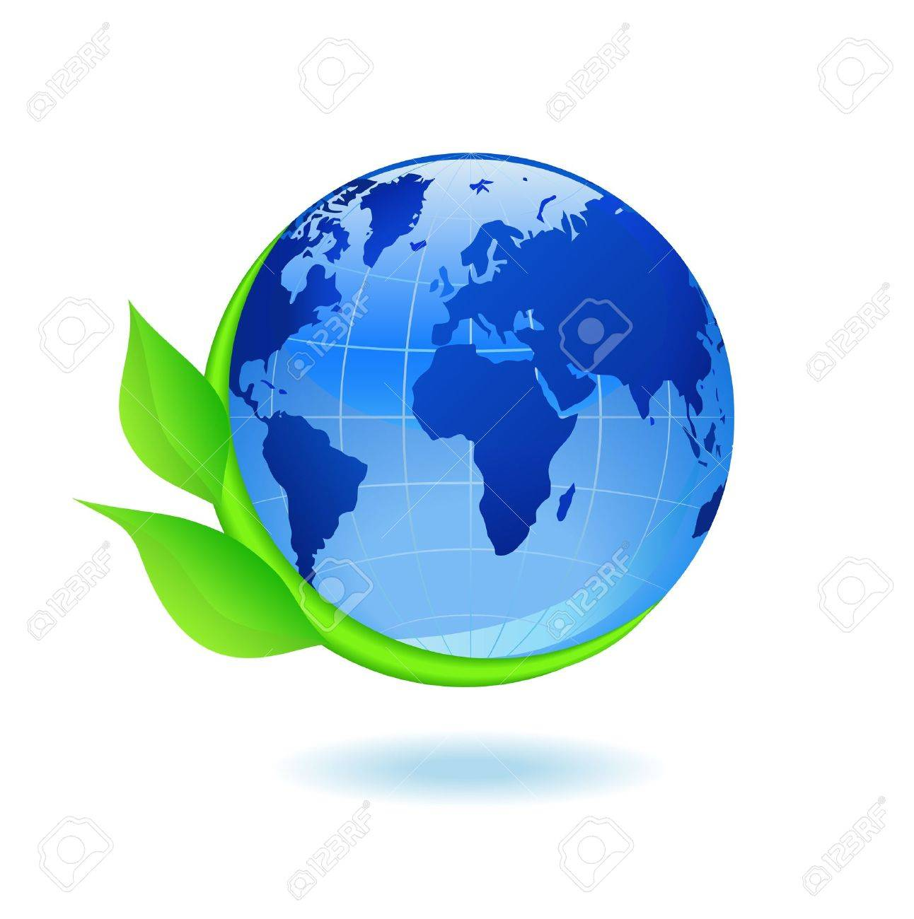 Globe and plant are shown in the picture. - 9804431
