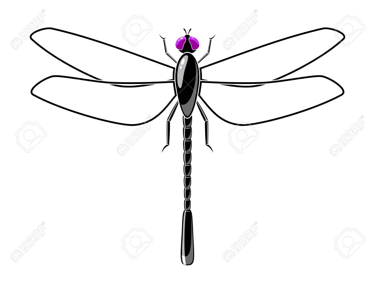 Symbol of a dragonfly is on a white background royalty free symbol of a dragonfly is on a white background stock vector 34401120 biocorpaavc