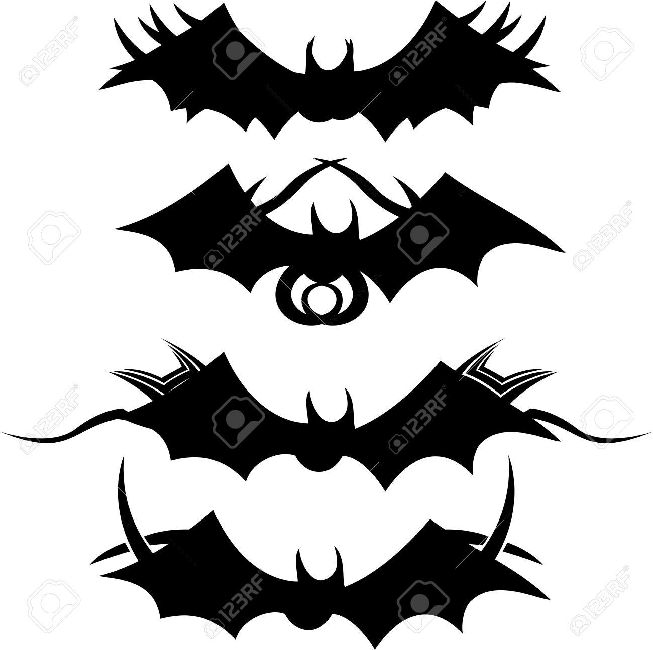 543020cd7 Tribal Bats Royalty Free Cliparts, Vectors, And Stock Illustration ...