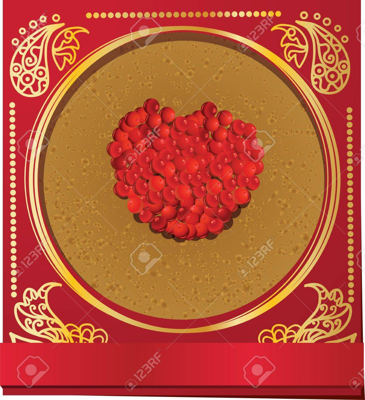 Card Russian Carnival with pancake and salmon red caviar Stock Vector - 17511221