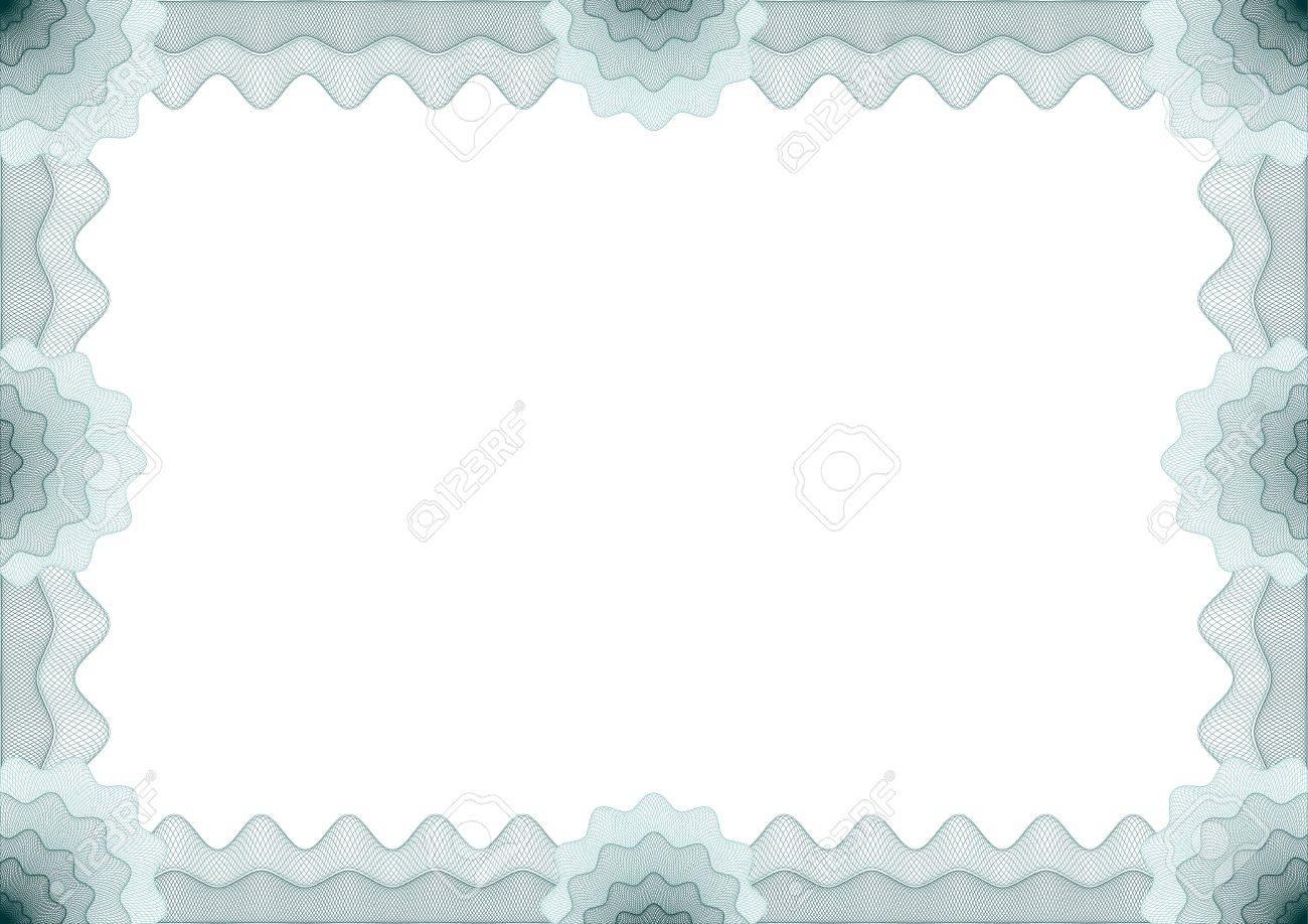 Rahmen Für Gutschein, Zertifikat Lizenzfrei Nutzbare Vektorgrafiken ...