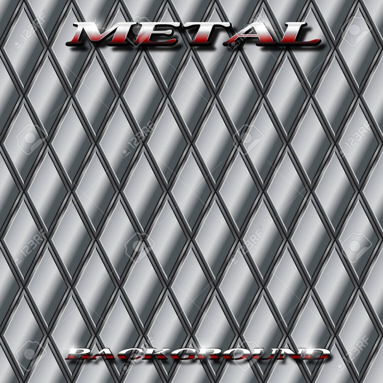 Metal background illustration Stock Vector - 13045633