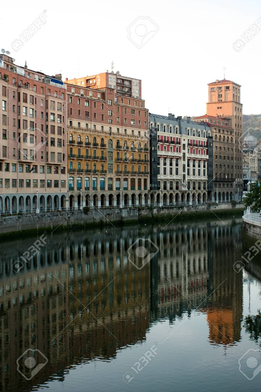 City of Bilbao, Basque Country in Spain Stock Photo - 12125566