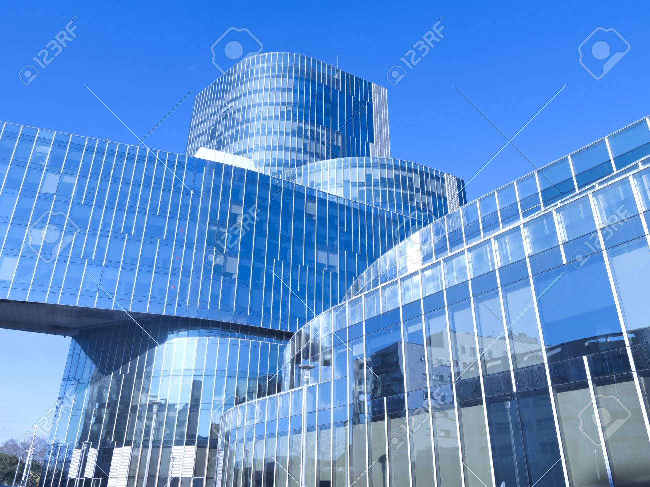 modern office building with blue glass facade futuristic stock photo 18778144 blue glass top modern office
