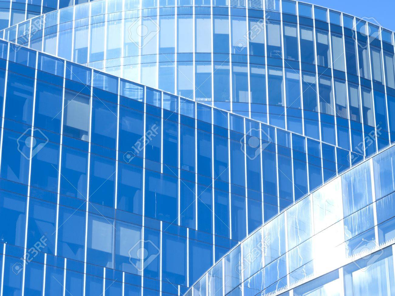 modern office building with blue glass facade futuristic stock photo 18778142 blue glass top modern office