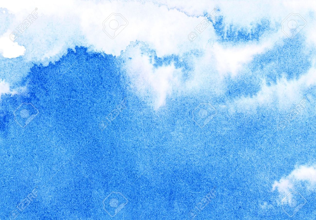 Abstract watercolor sky Stock Photo - 17562265