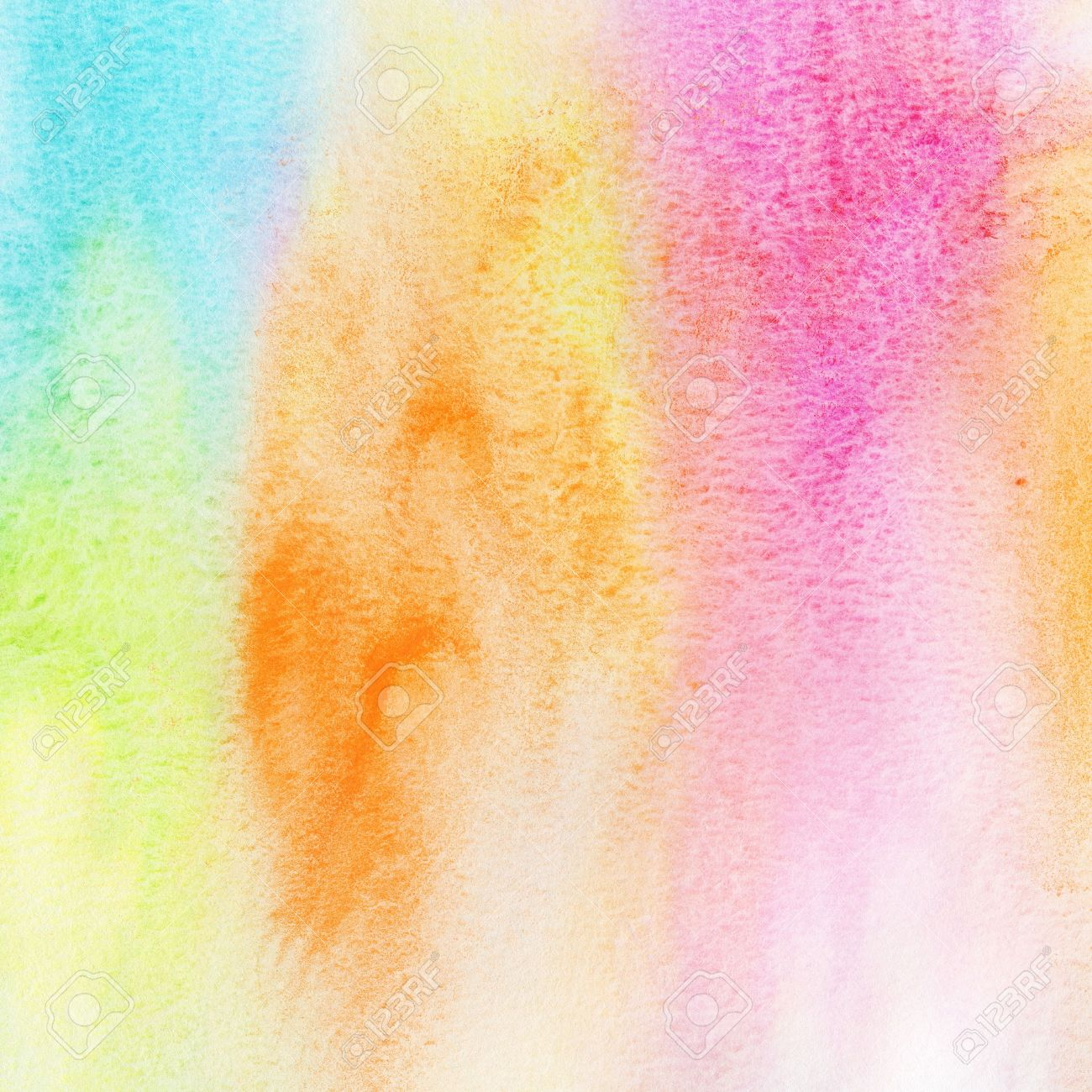 Abstract Colorful Watercolor Background Spring And Summer Theme ...