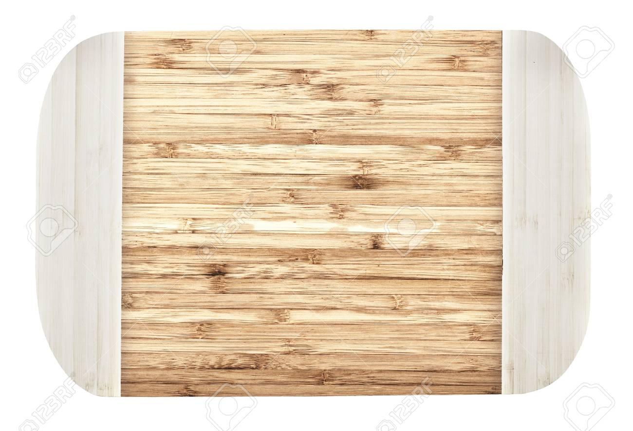 Tagliere Da Cucina Marrone è Isolato Su Uno Sfondo Bianco Foto ...