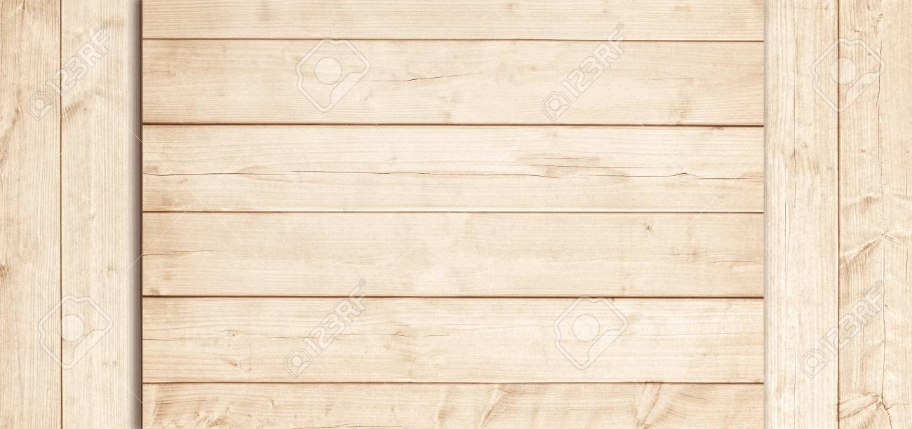 Light Brown Wooden Planks, Tabletop Or Floor Surface. Wood Texture. Stock  Photo