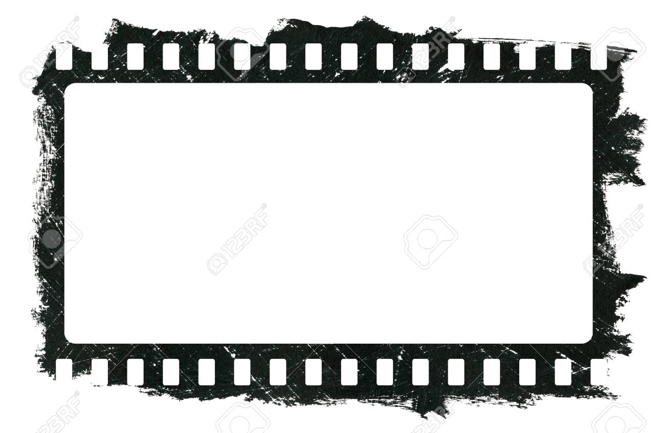 grunge scratched dirty film strip black watercolor frame is stock photo picture and royalty free image image 118096317 grunge scratched dirty film strip black watercolor frame is