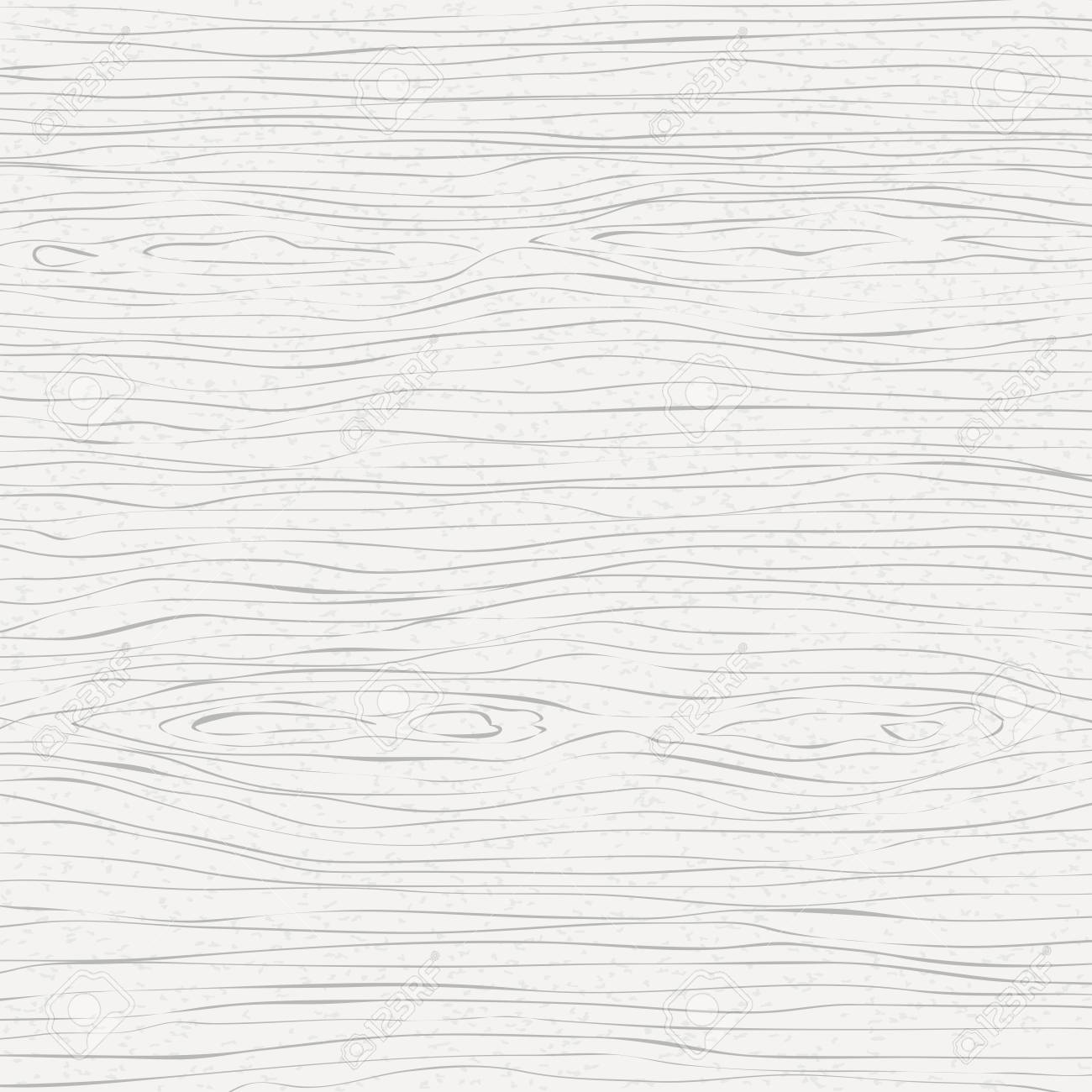 White wooden cutting, chopping board, table or floor surface. Wood texture. Vector illustration. - 122819531