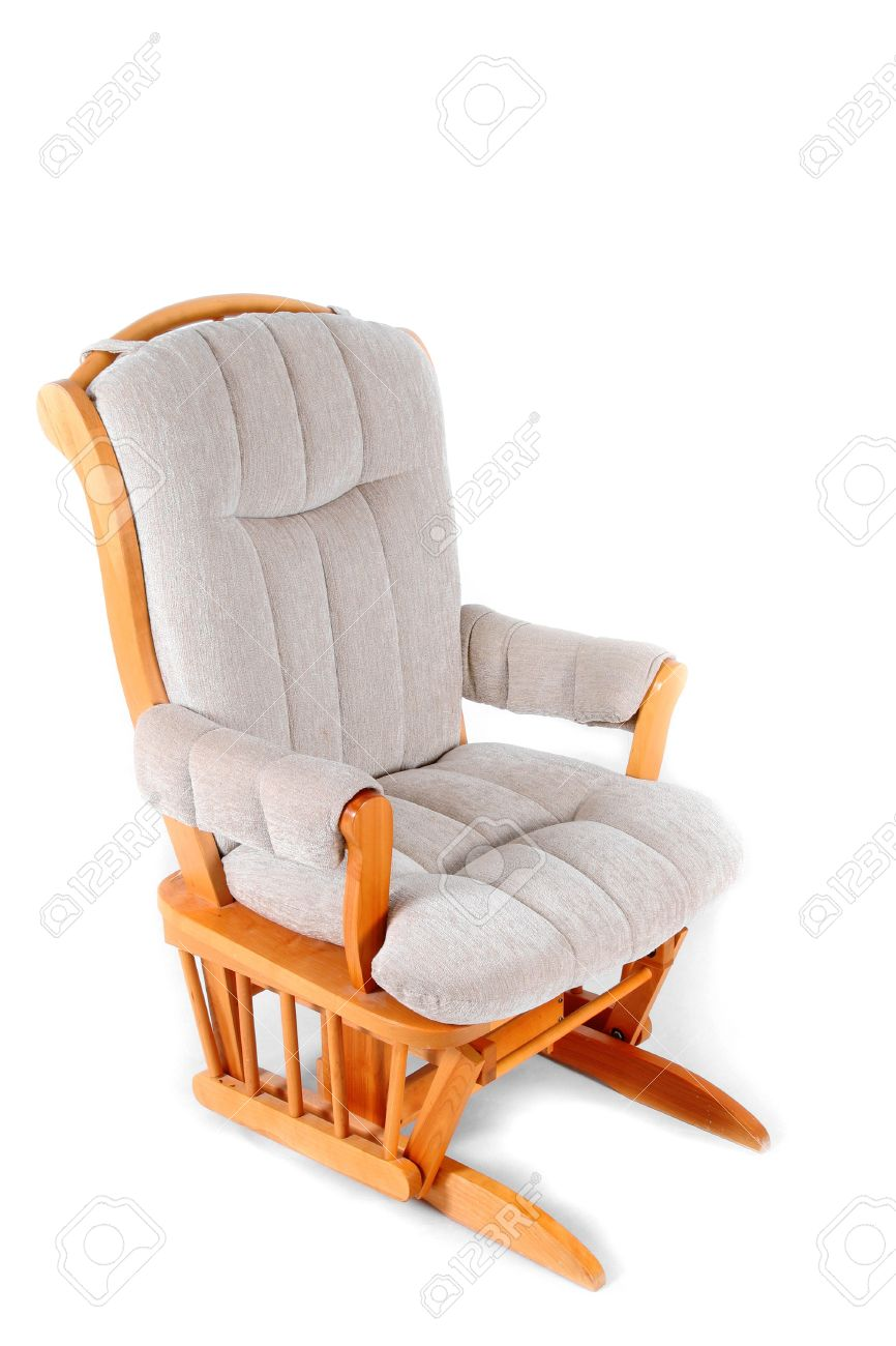 Superbe Padded Rocking Chair Stock Photo   1806606