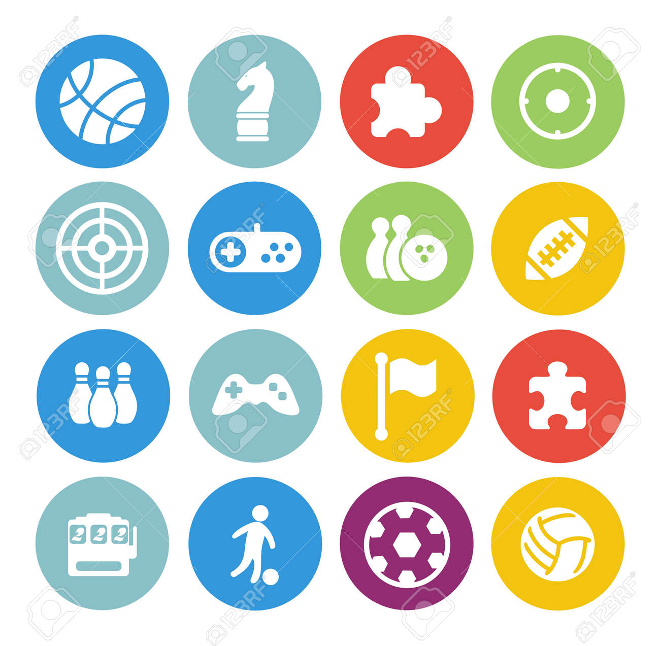 game icons set - 154956078