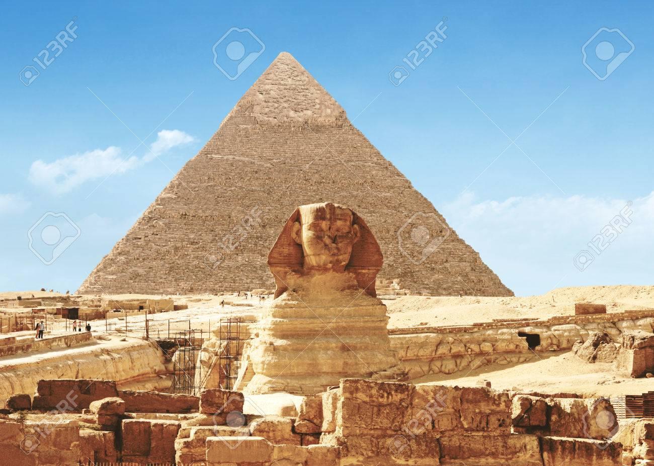 Die Grosse Sphinx Von Gizeh Agypten Lizenzfreie Fotos Bilder Und Stock Fotografie Image 34903731
