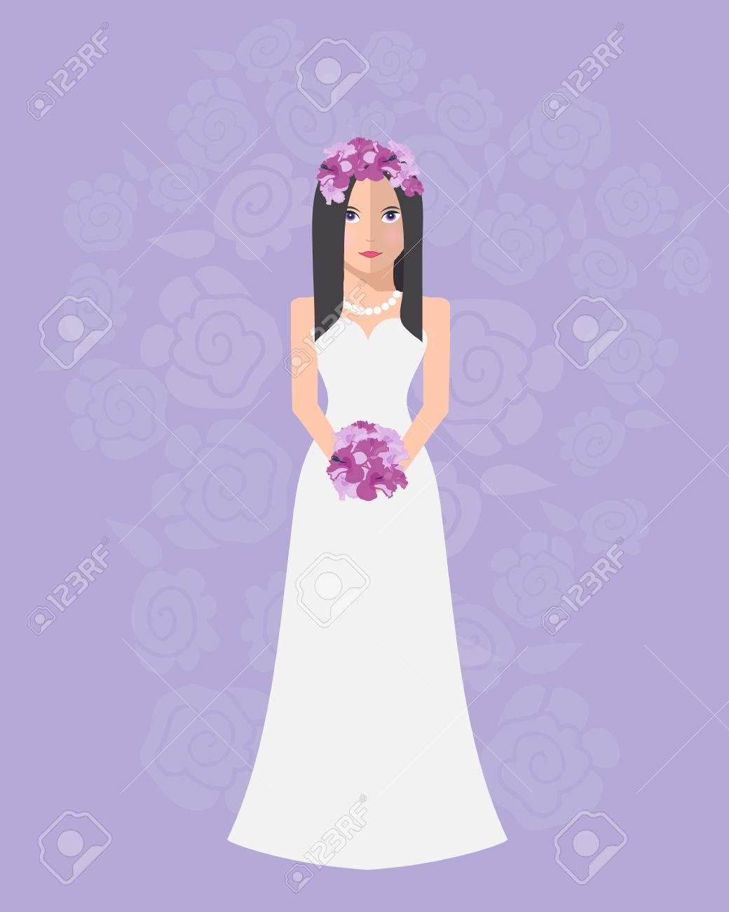 Fantástico Vestidos De Novia De Flores Colección - Vestido de Novia ...