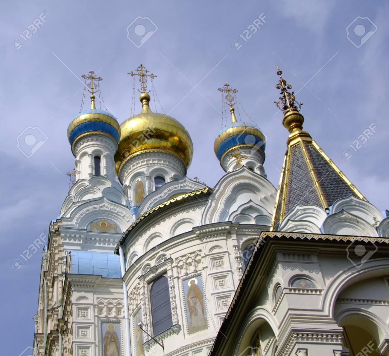 Orthodox Church in Carlsbad Stock Photo - 16627828