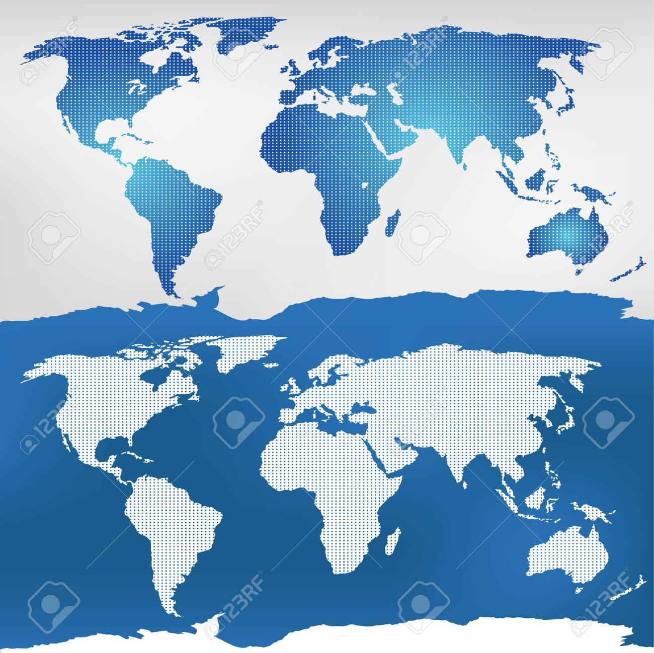 Illustration of the world map mercator projection royalty free illustration of the world map mercator projection stock vector 55023781 gumiabroncs Images