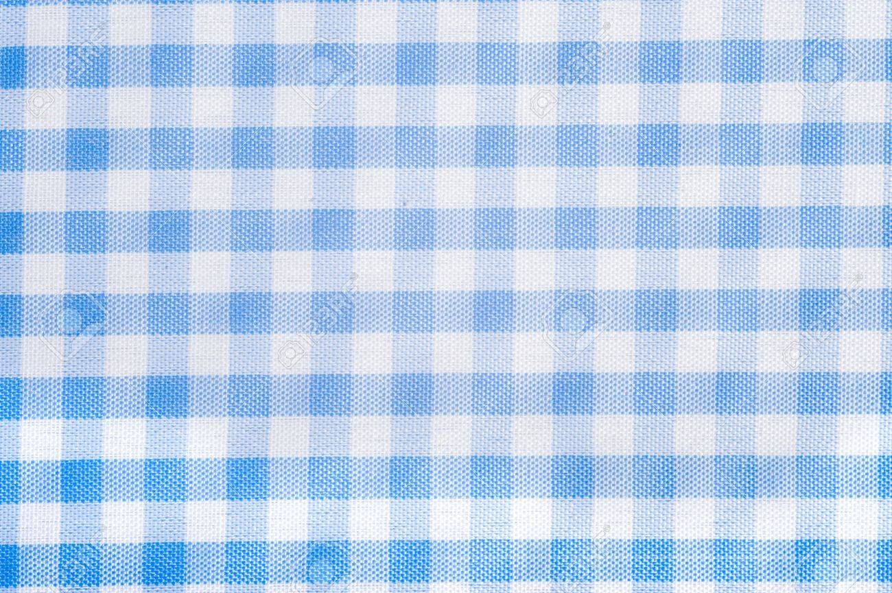 Blue tablecloth background - Light Blue Gingham Or Checked Tablecloth Background Stock Photo 4726137
