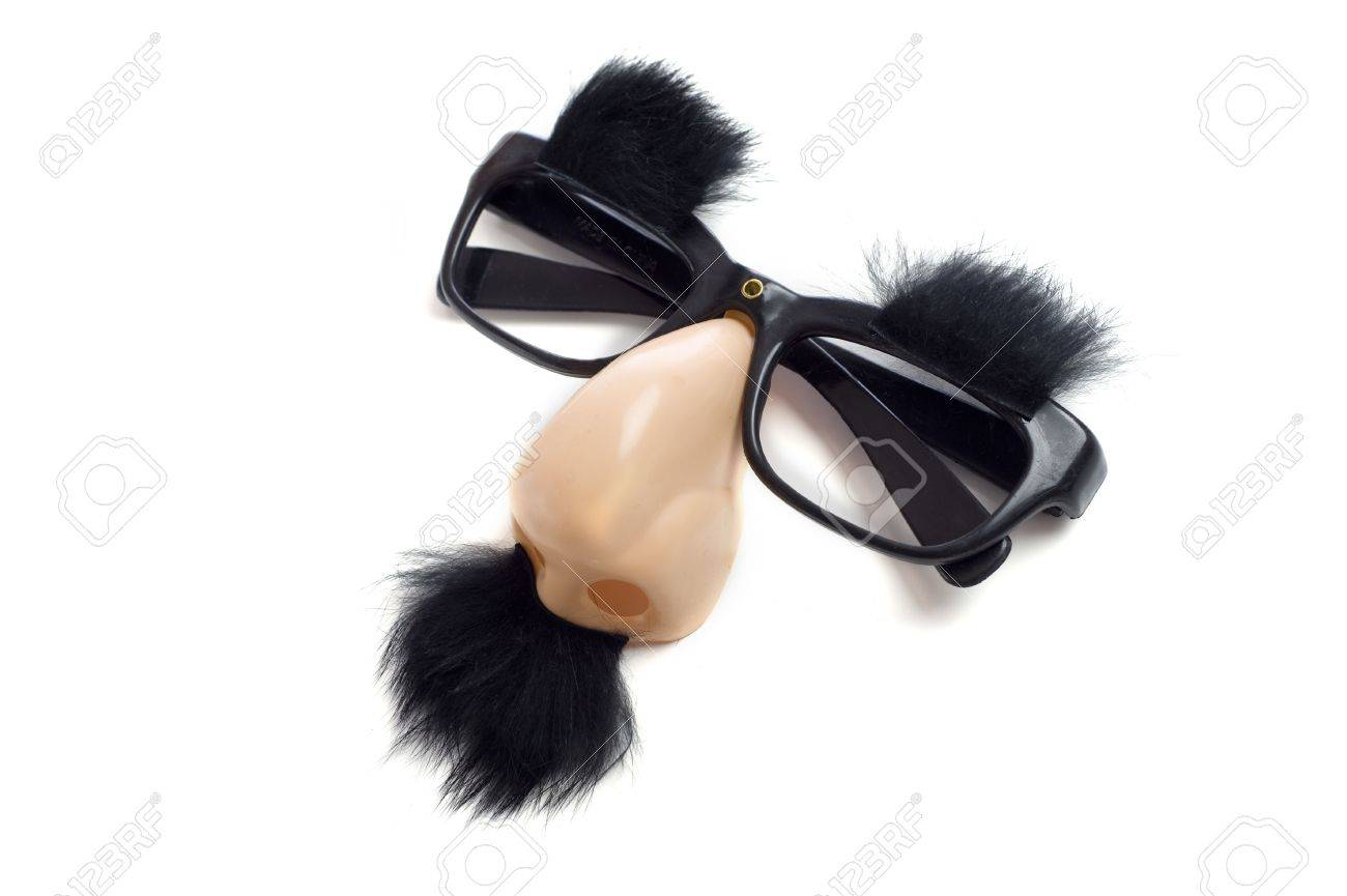 A Set Of Groucho Marx Glasses With Nose Mustache And Eyebrows