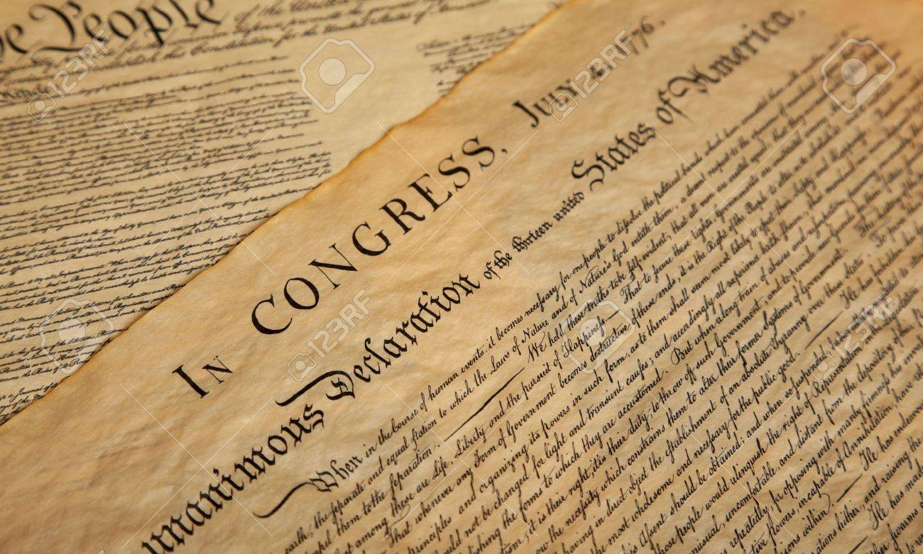 United States Declaration of Independence Stock Photo - 5676633