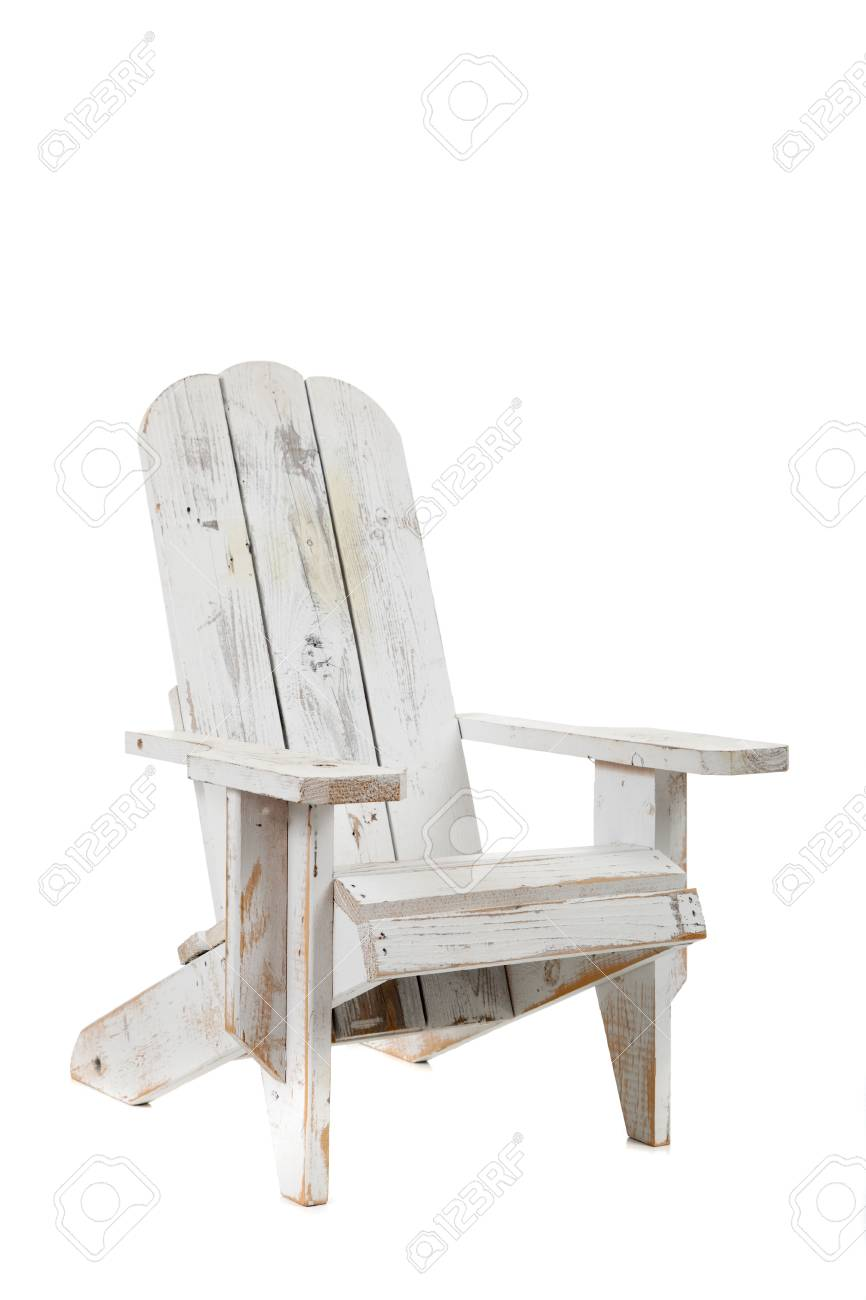 Admirable A White Adirondack Chair On A White Background Beatyapartments Chair Design Images Beatyapartmentscom