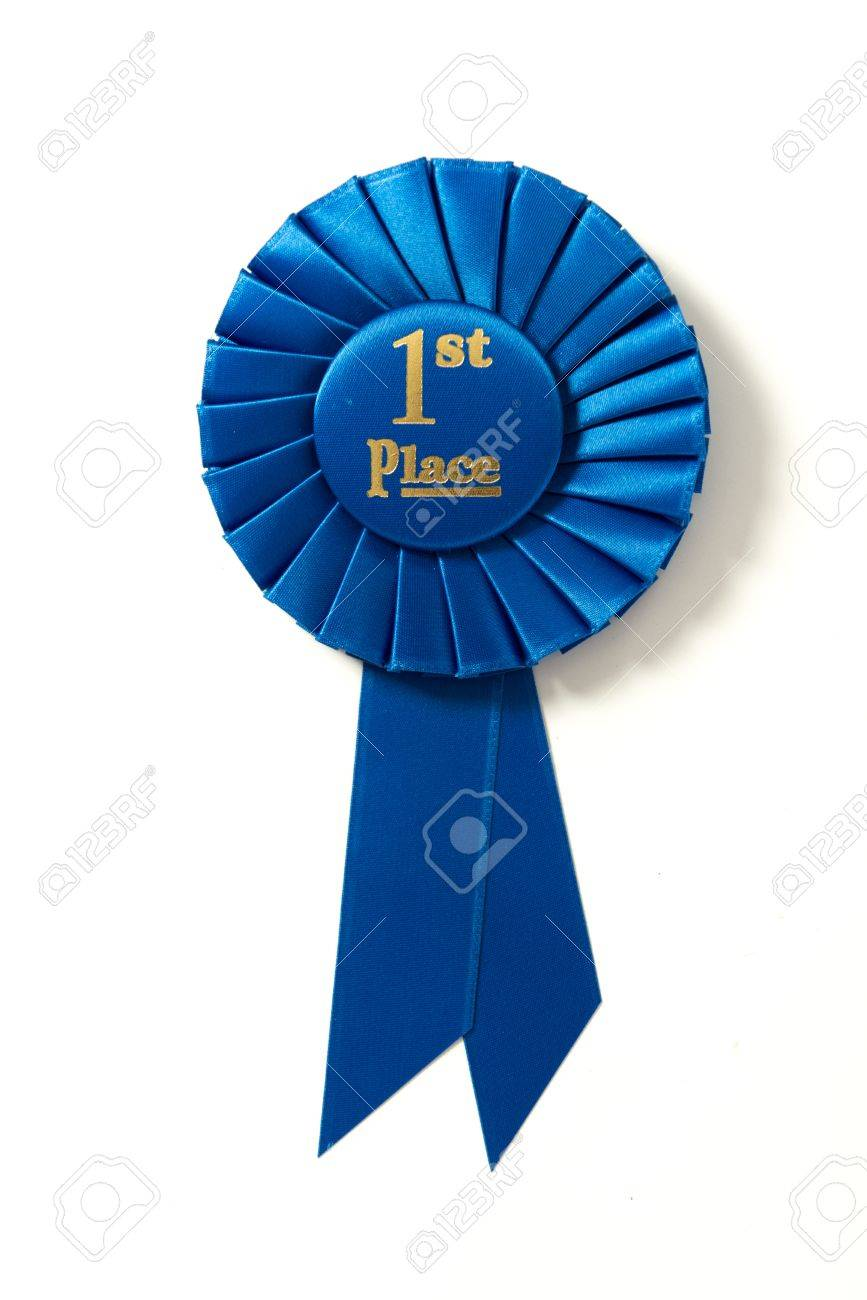 19833518-a-first-place-blue-ribbon-on-a-