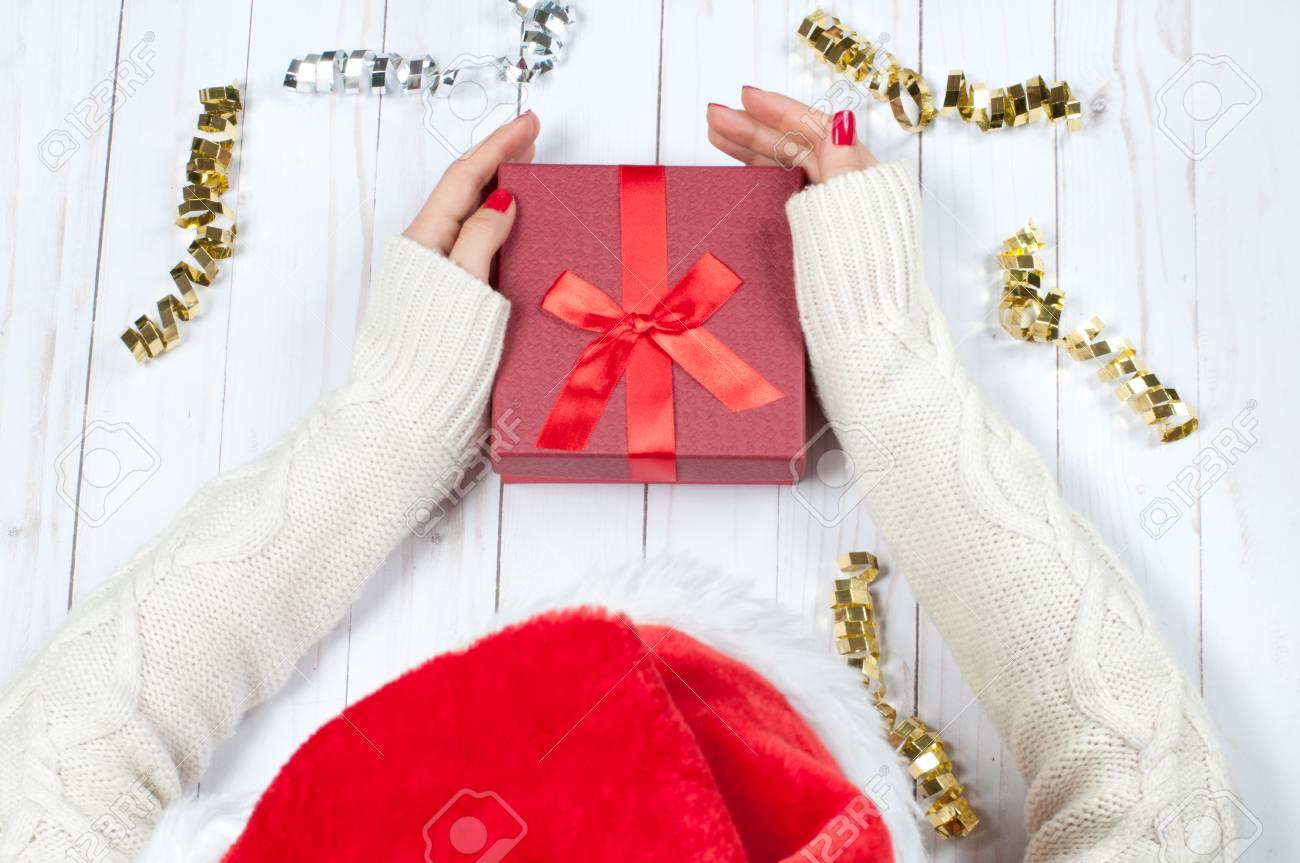 Die Weihnachtsgeschenke.Stock Photo