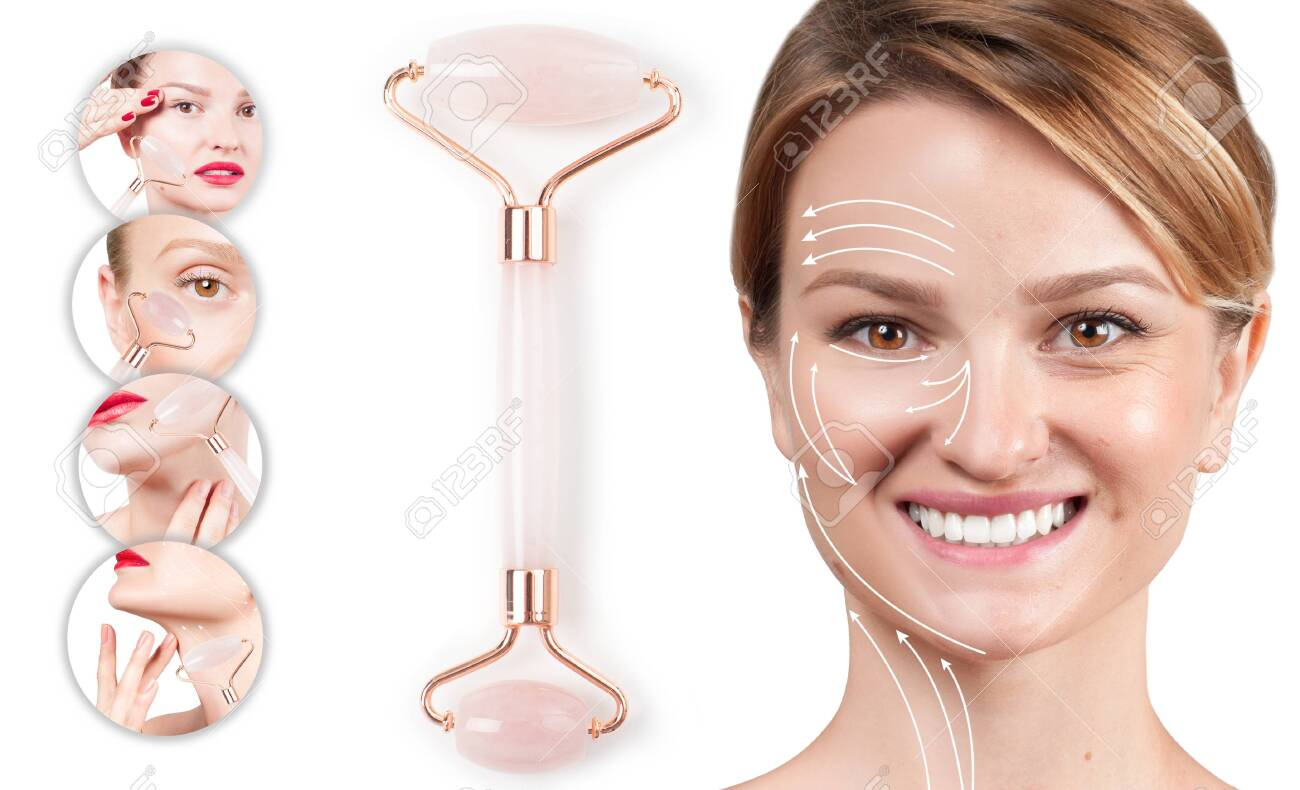 Concept Of Skin Rejuvenation Face Lift Anti Aging Treatment