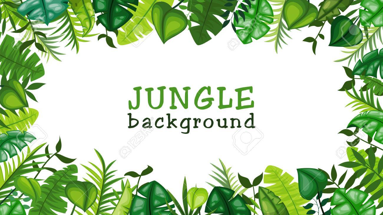 jungle vector background royalty free cliparts vectors and stock rh 123rf com jungle vector background free download jungle vector image