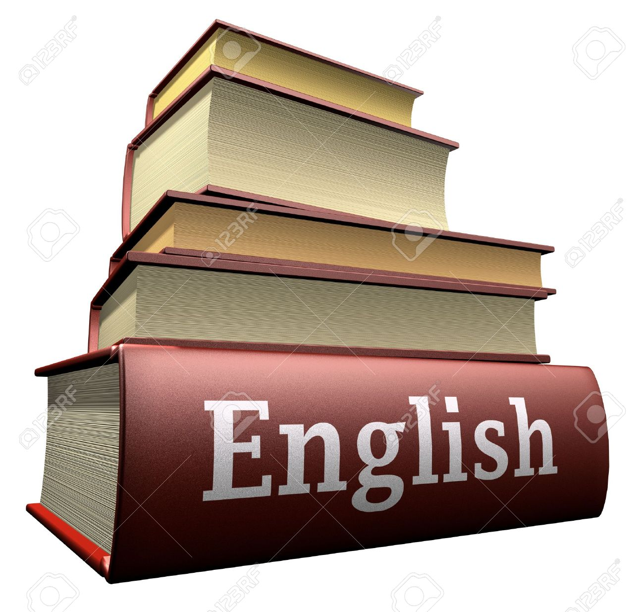 Education Books - English Stock Photo, Picture And Royalty Free ...