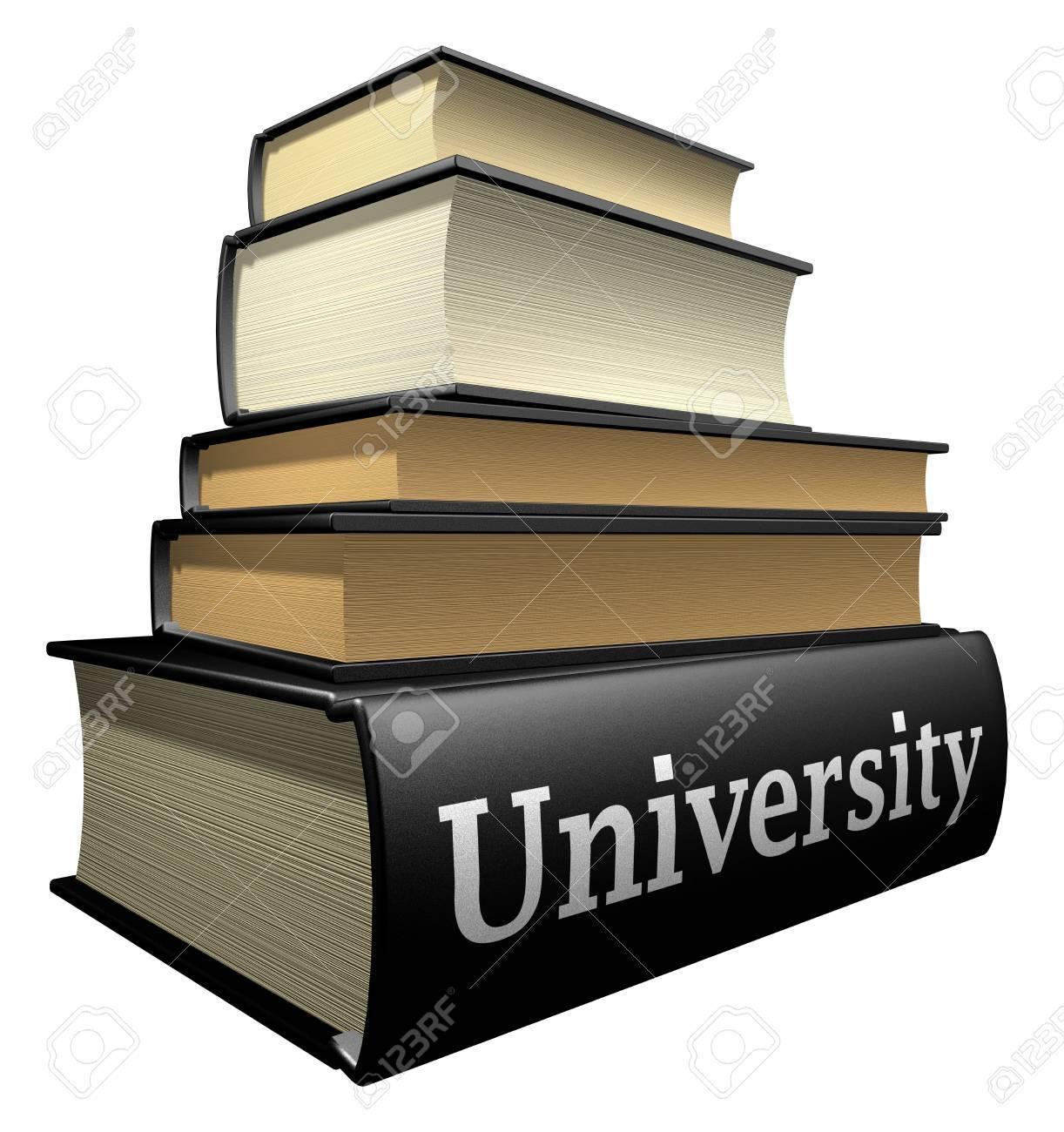 Education books - university Stock Photo - 3626353