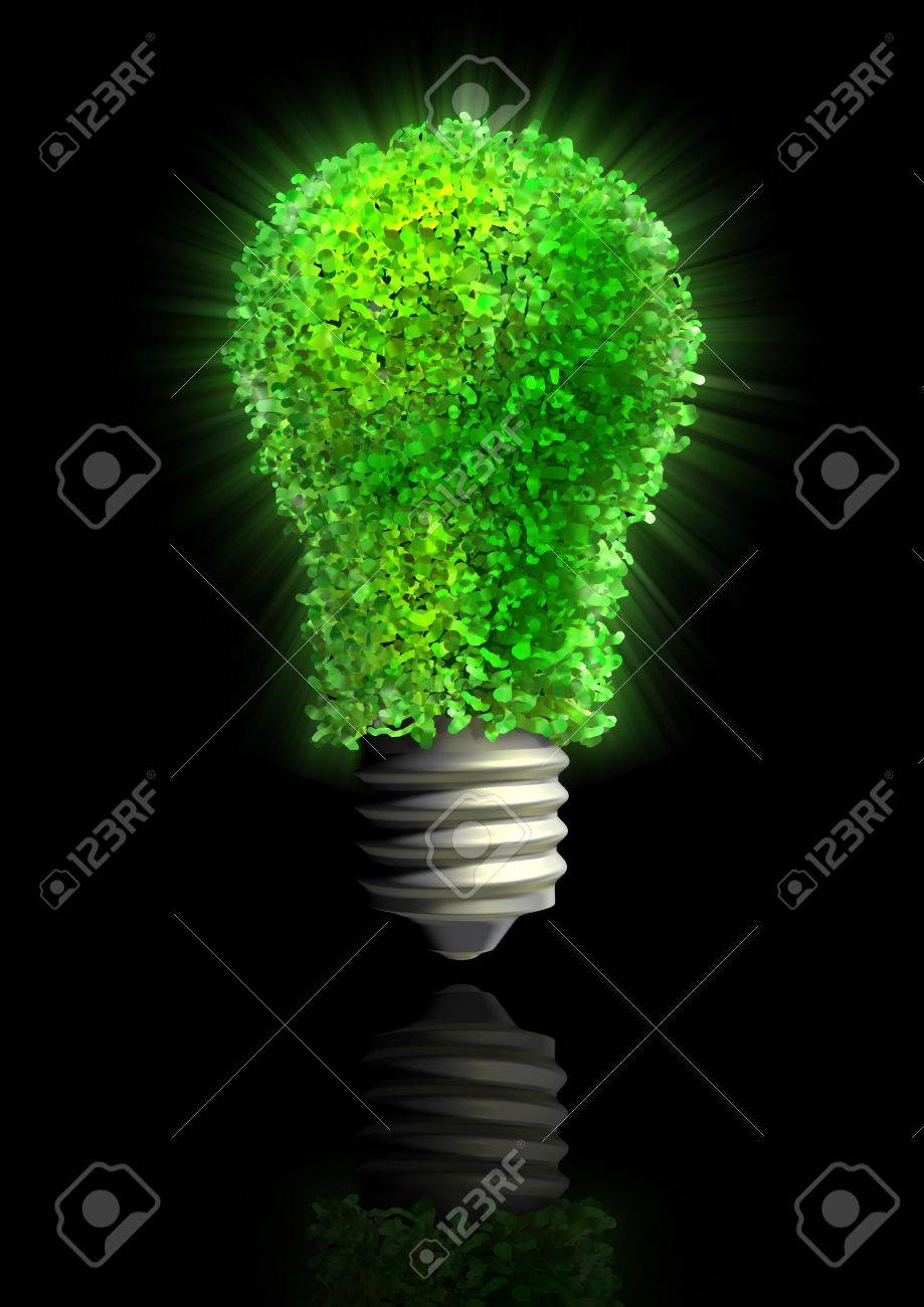 Green eco energy Stock Photo - 3626282